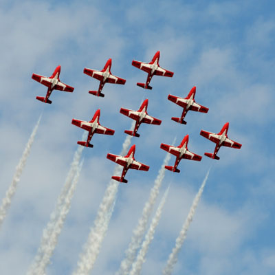 Canadian Force Snowbirds