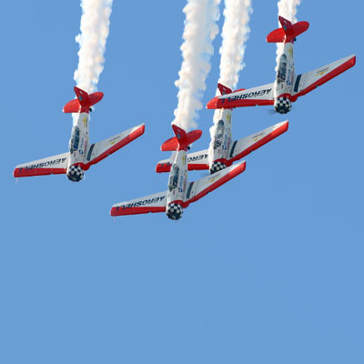 AeroShell - 4x AT-6s